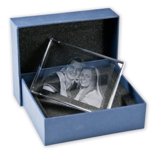 2D Foto in Glas - selbststehend