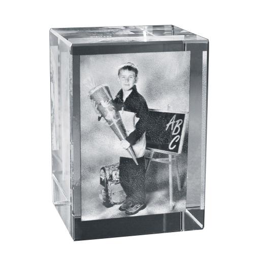 2D Foto in Glasblock