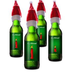 Der Bier Adventskranz
