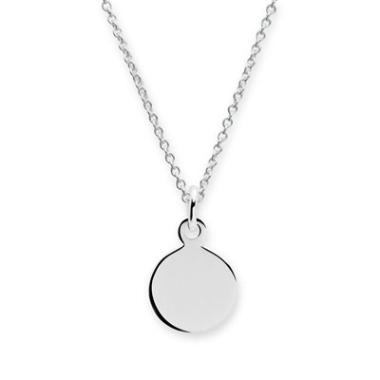Anhänger Kreis Silber - 8770