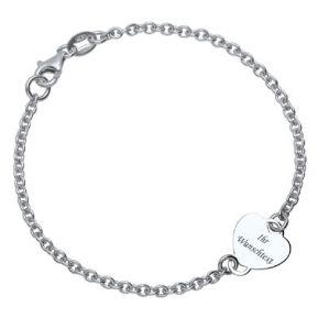Silberarmband mit Gravur - 9250