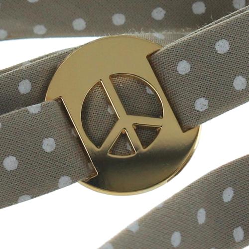 Personalisierte Liberty Bänder vergoldet