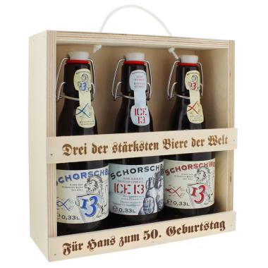 Bier-Set: stärksten Biere der Welt
