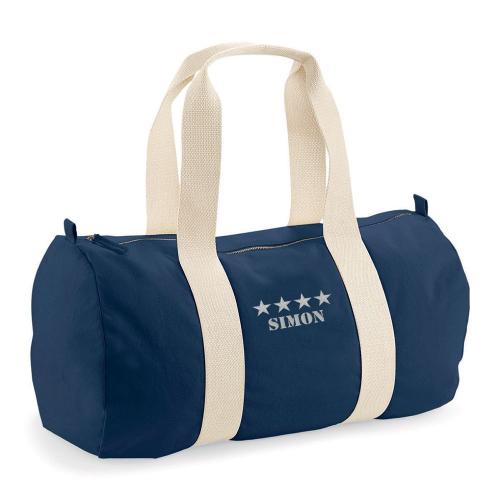 Sporttasche Blau 4 Sterne