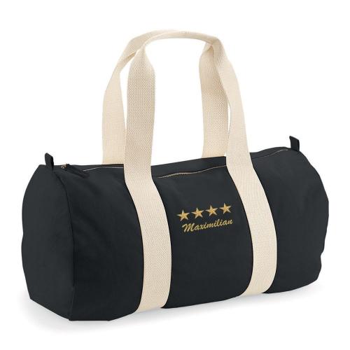 Sporttasche Schwarz 4 Sterne