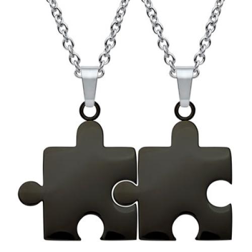 Anhänger Puzzle mit Gravur - 8932