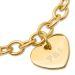 Armband mit Herzanhänger - 9456