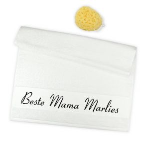 Personalisiertes Handtuch beste Mama