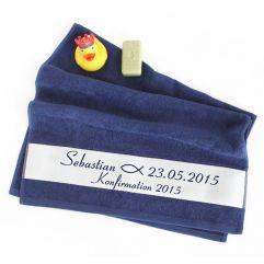 Personalisiertes Handtuch zur Konfirmation