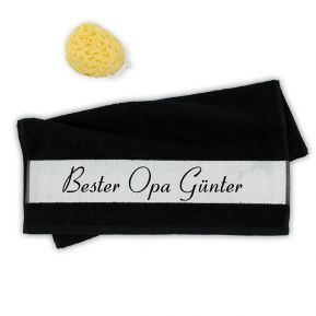 Personalisiertes Handtuch bester Opa
