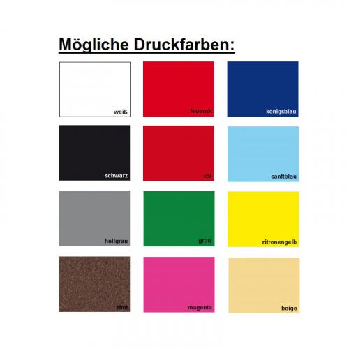Handtücher Druck-Farben