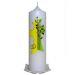 Hochzeitskerze Kreuz mit Baum