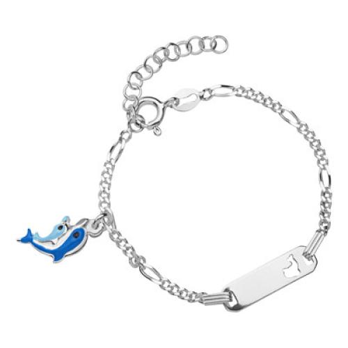 Kinderarmband Silber mit Gravur- 8484