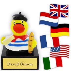 Nationen-Ente Ihres Landes