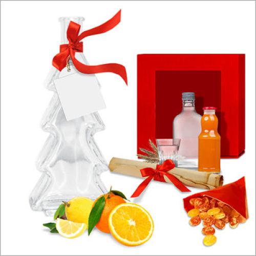 Likör Selbstmach-Set Weihnachten