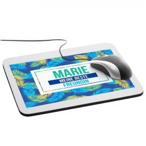 Personalisierbares Mousepad mit Palmendesign