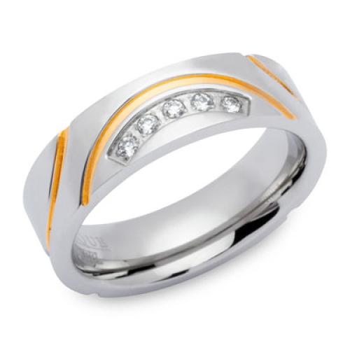 Ring Zirkonia mit Gravur 9193