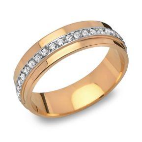 Ring Zirkonia Silber mit Gravur - 8551
