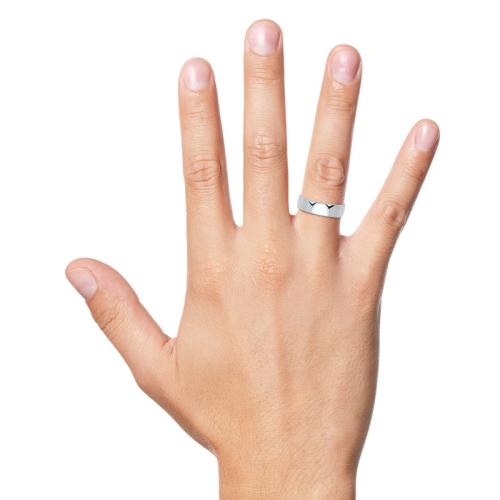 Ring Silber mit Gravur - 8552
