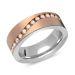 Ring Zirkonia Silber mit Gravur - 8560