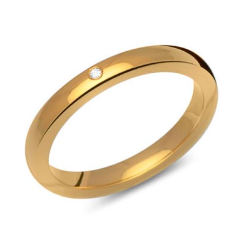 Ring Zirkonia Silber mit Gravur - 8561