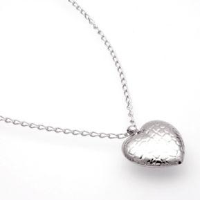Silberkette Herz 5