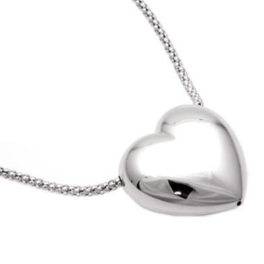 Silberkette Herz 6