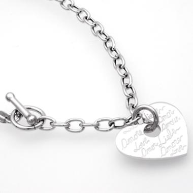 Silberkette Herz 4