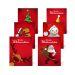 Flaschenetiketten mit Weihnachtsmotiven