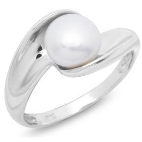 Ring Silber mit Perle 131