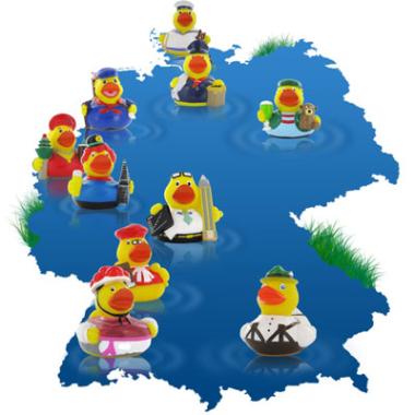 Stadt-Ente meiner Stadt