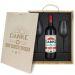 Weinbox mit Gläsern und personalisiertem Logo