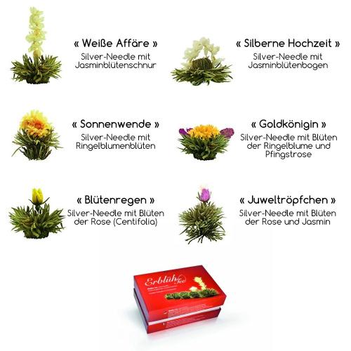 Erblühtee (weisser Tee)