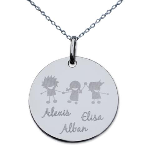 Halsband Alban mit Gravur