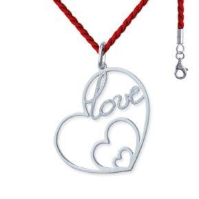 Anhänger Herz Love