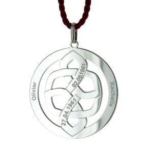 Anhänger keltischer Knoten mit Gravur