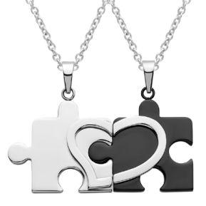 Anhänger Puzzle mit Gravur - 8793