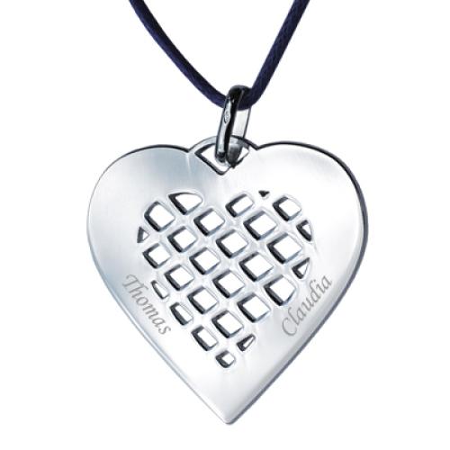 Anhänger Herz Silber - 8712