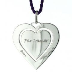 Anhänger Silber Herz - 8713