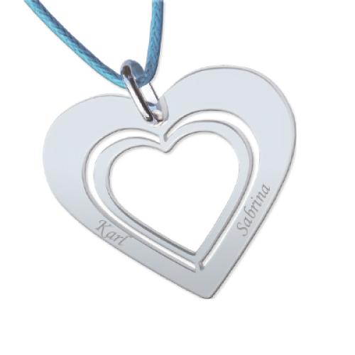 Anhänger Silber Herz - 8714