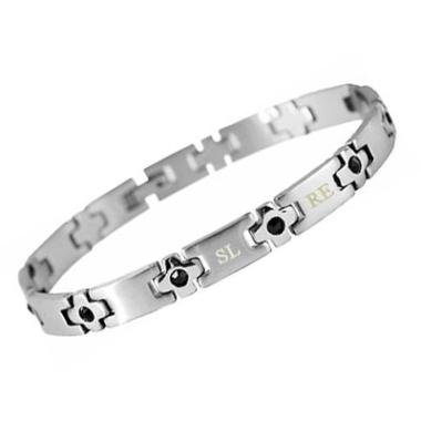 Armband Edelstahl mit Gravur - 8432