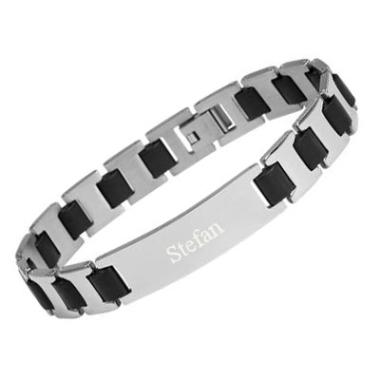 Armband Edelstahl mit Gravur - 8832