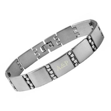 Armband Edelstahl mit Gravur - 8420