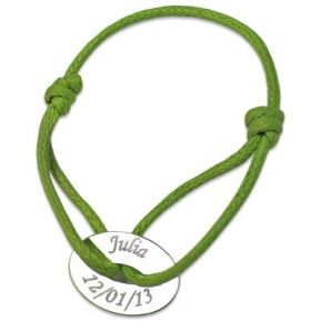 Armband Jeton oval personalisiert