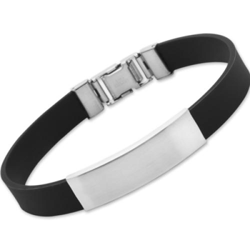 Kautschuk-Armband mit Gravur - 8080