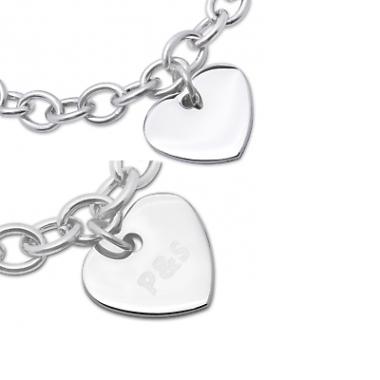 Armband mit Herzanhänger