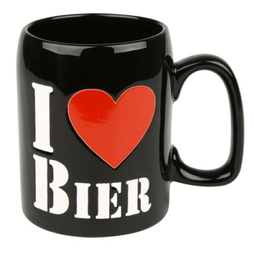 Bierkrug - I love Bier