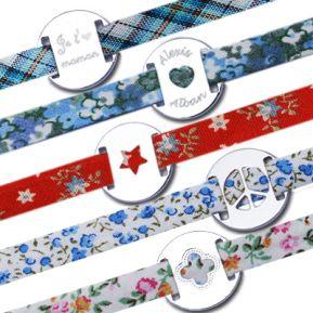 Personalisierte Liberty Bänder