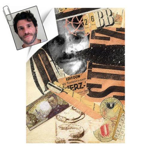 Bild Portrait Mann Dada