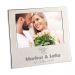 Bilderrahmen zur Hochzeit mit Gravur